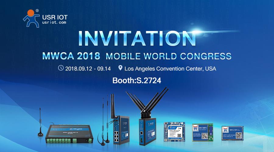 INVITATION of Mobile World Congress Americas 2018