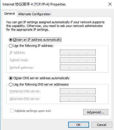 configure G800 Web Server