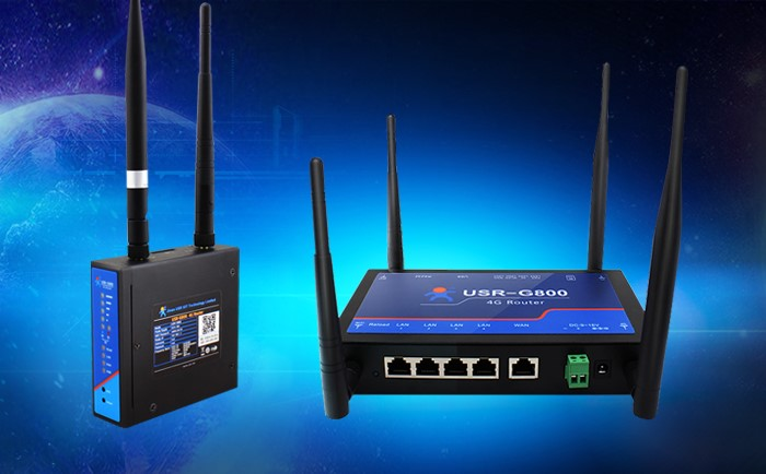 description of Industrial 4G Router- USR-G800