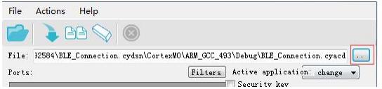 bootloader-host-Select firmware file