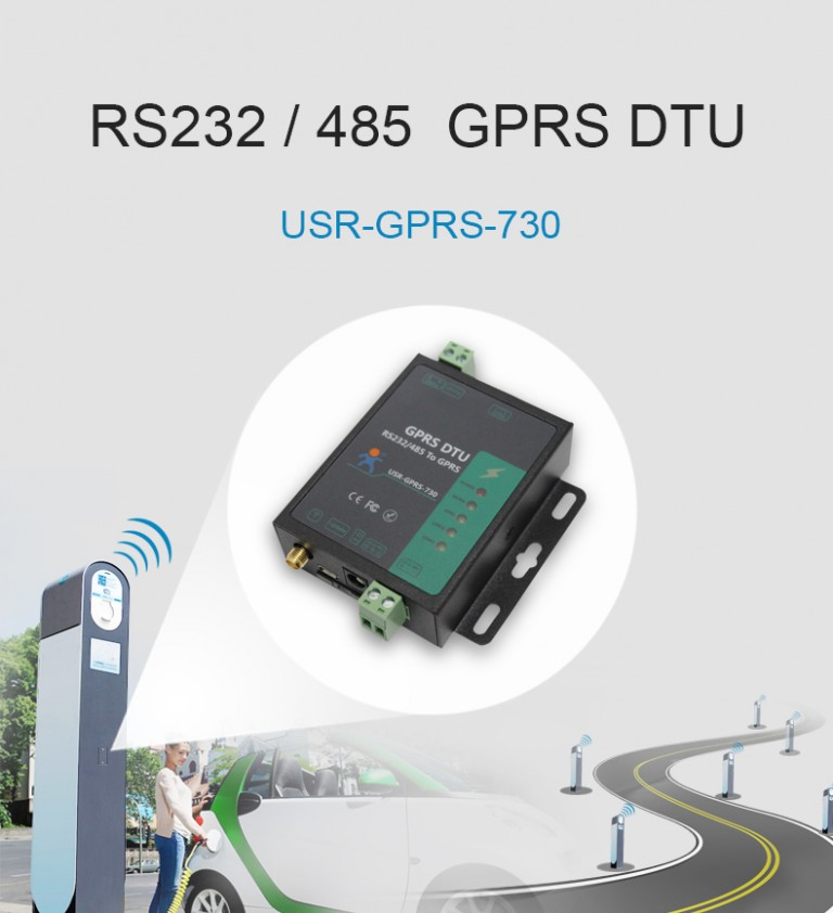 Introduction of RS232 / RS485 GSM Modem