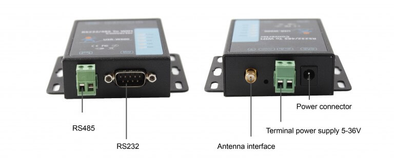 Product details of RS232 RS485 to WiFi Converter