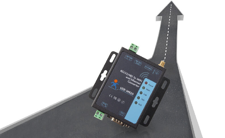 Serial to WiFi and Ethernet Converter,Products Iteration, Dual power interface & Modbus polling function.