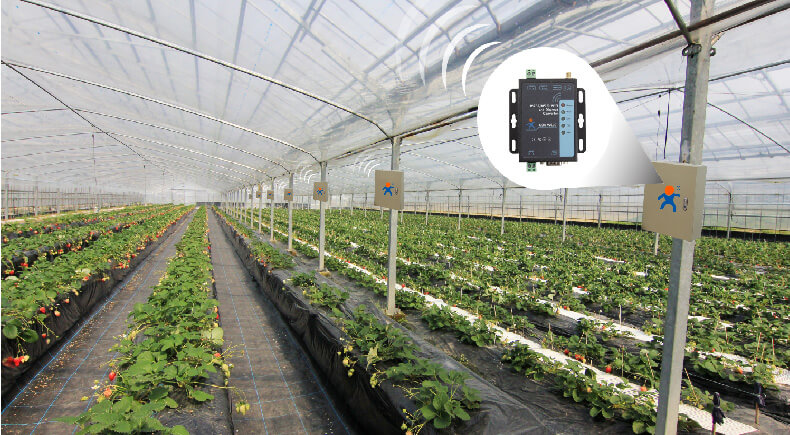 Smart Agriculture solution for Serial to WiFi and Ethernet Converter