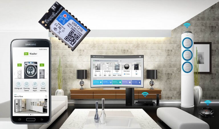 Iot Wifi Modules Applications, smart home