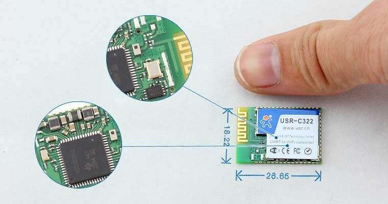 Small size wifi module