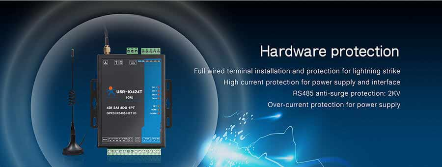 Hardware protection of 4-way network io controller