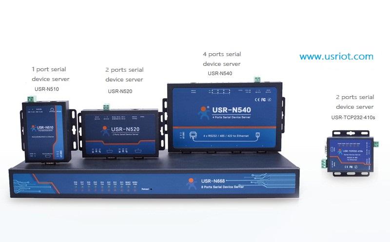 serial device servers - USRIOT