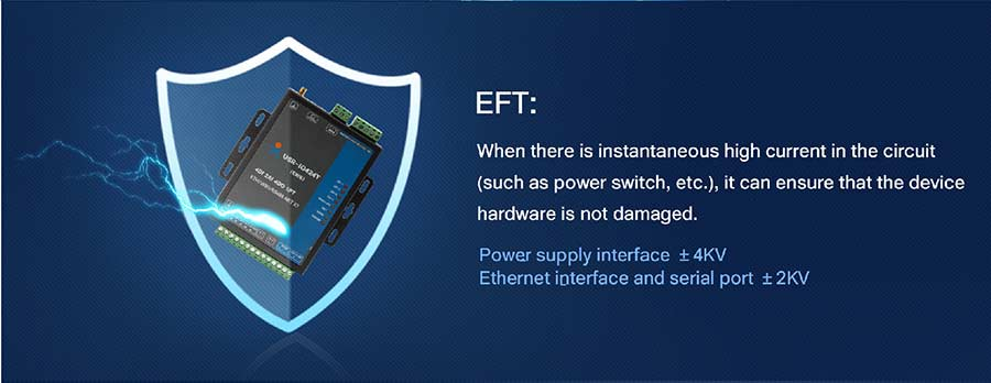 EFT can ensure 4-way network io controller is not damaged
