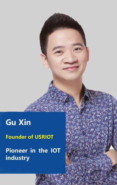 Gu Xin- Fouder of USRIOT