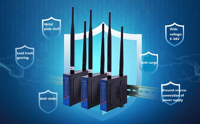 stability of usriot industrial 4g router