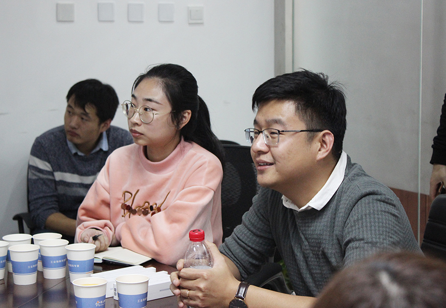 Vice President of Technology Shao Hui (Right First) attended the Open Day of Enterprises