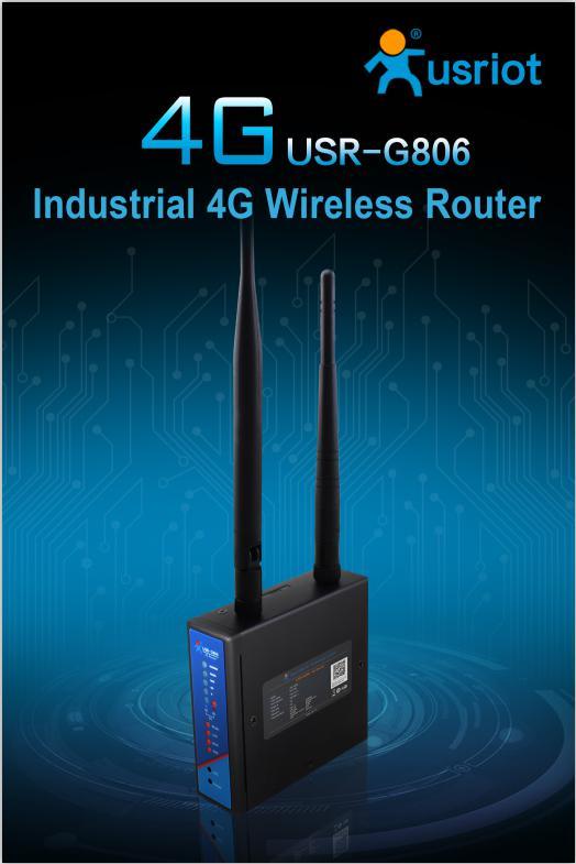 USR-G806 Industrial 4G Wireless Router