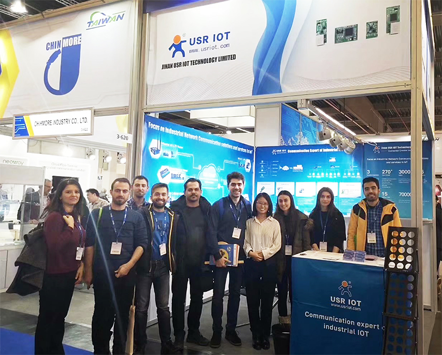 USRIOT was attended 17th Embedded World 2019 Exhibition & Conference