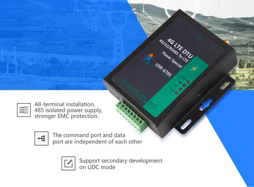introduction of cellular modem USR-G785