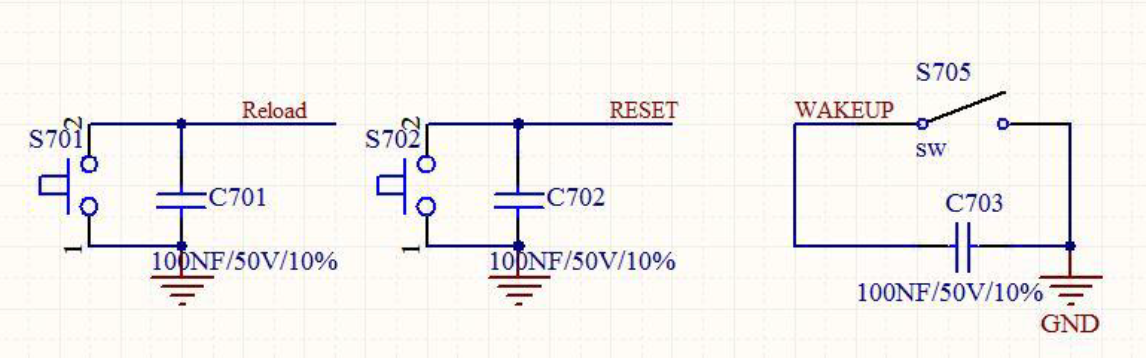 Reset,reload and wakeup mode of gsm module USR-GM3