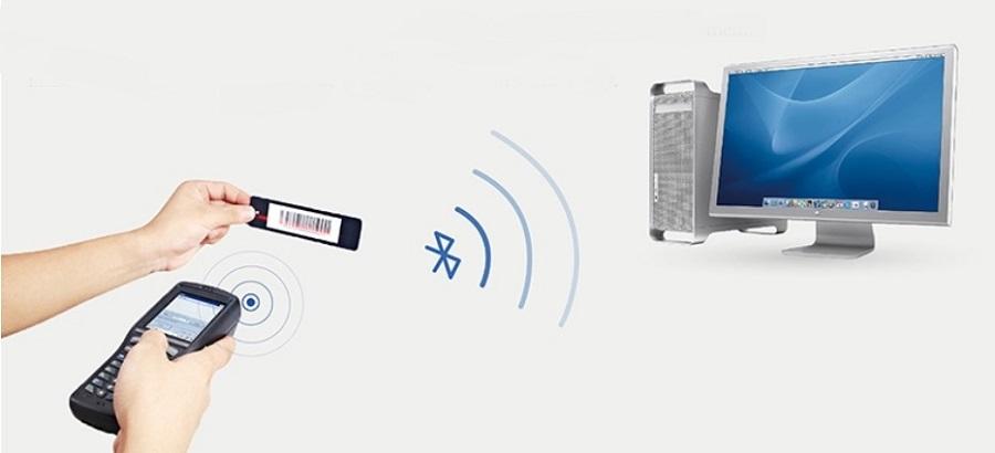 Handheld POS system of bluetooth module