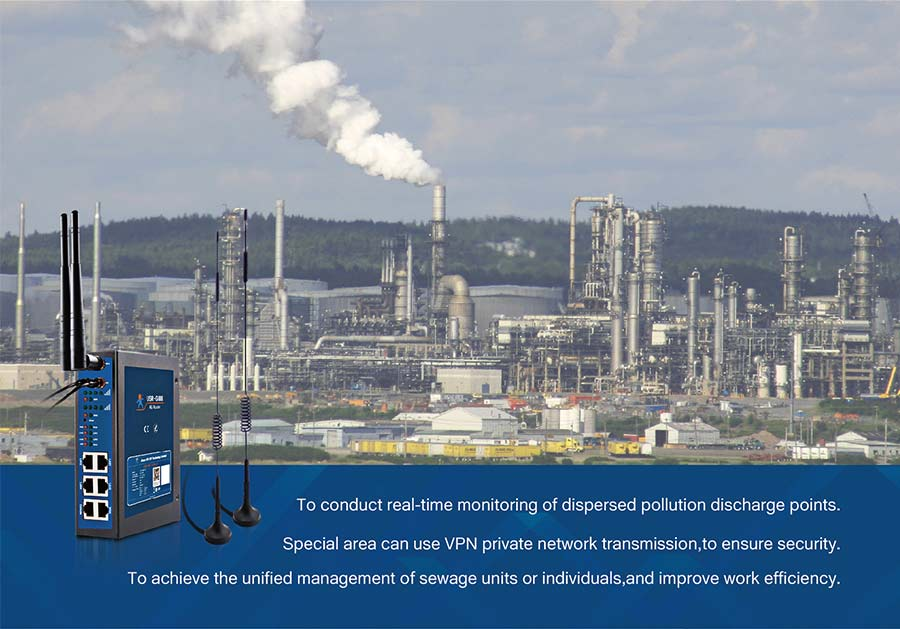 application of industrial 4g router:  Smart Environmental