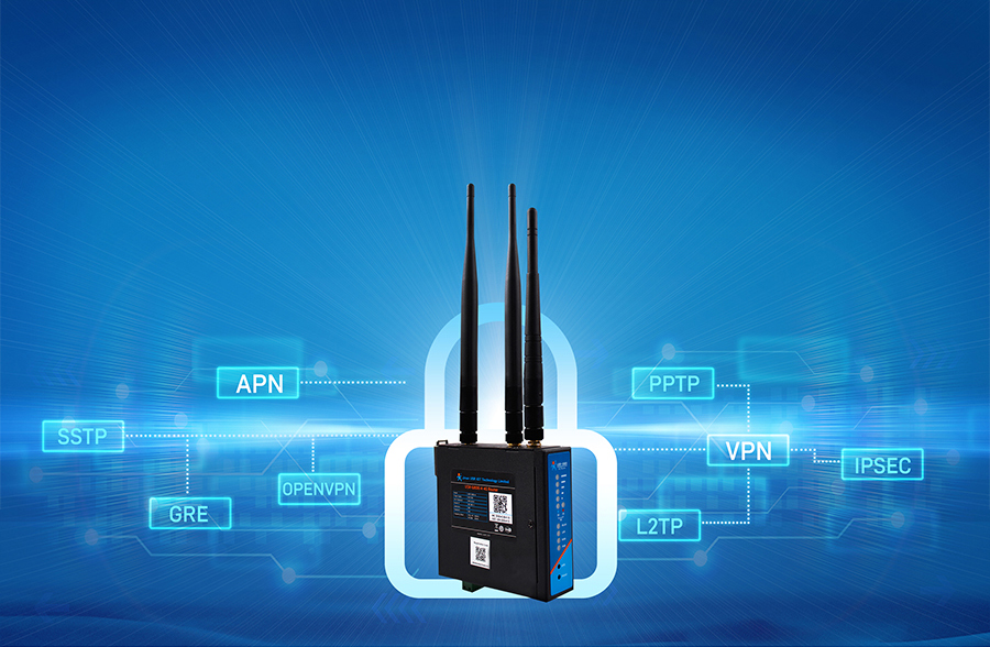 Industrial LTE 4G Router USR-G806-A which supports apn & vpn