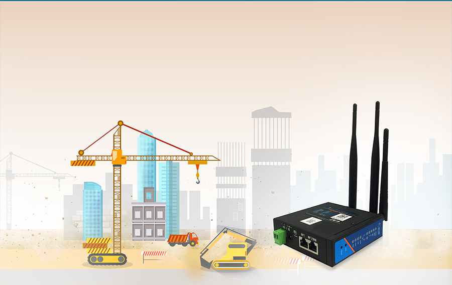 industrial wireless 4G LTE Router-USR-G806-A: Environmental monitoring transmission
