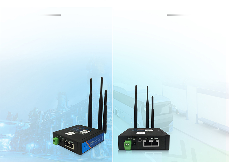 industrial wireless 4G LTE Router-USR-G806-A: Option networking modes