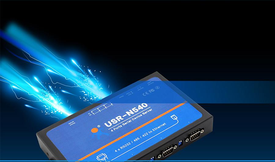 USR-N540, ethernet to rs485 converter/modbus to ethernet converter/rs485 to tcp ip converter: Electrical fast pulse train-EFT