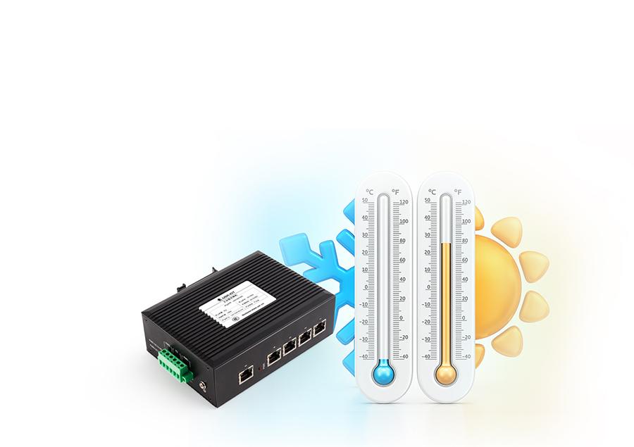 Industrial Design: Ethernet switch USR-SDR050