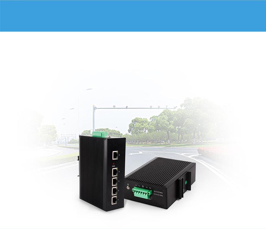 Application: Ethernet switch USR-SDR050 Intelligent transportation network transmission