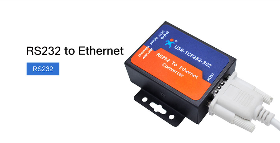rs232 to ethernet converter USR-TCP232-302: RS232 to Ethernet