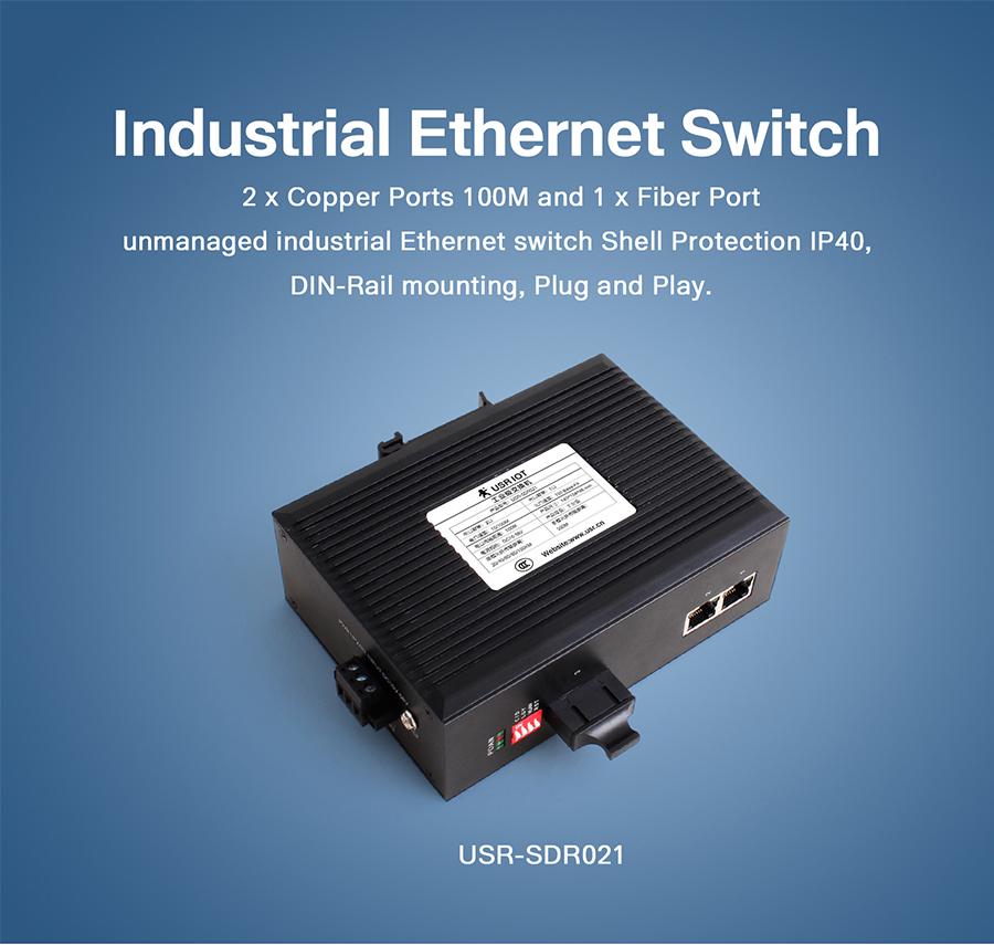 industrial ethernet switch USR-SDR021