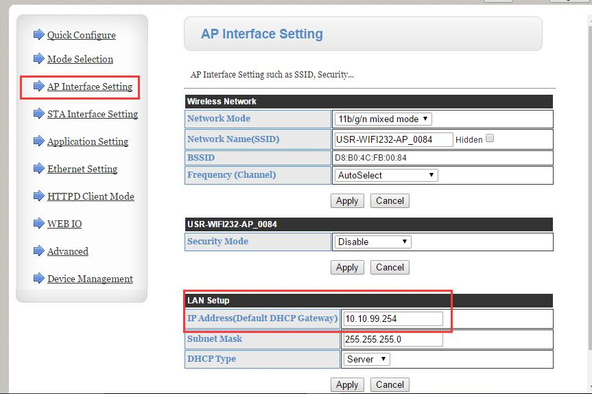 Change the second 610's LAN interface IP address to 10.10.99.254
