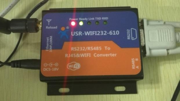 Link to the first USR-WIFI232-610(610 should in AP mode), the SSID is USR-WIFI232-AP_xxxx(xxxx is last 2 byte of MAC address).