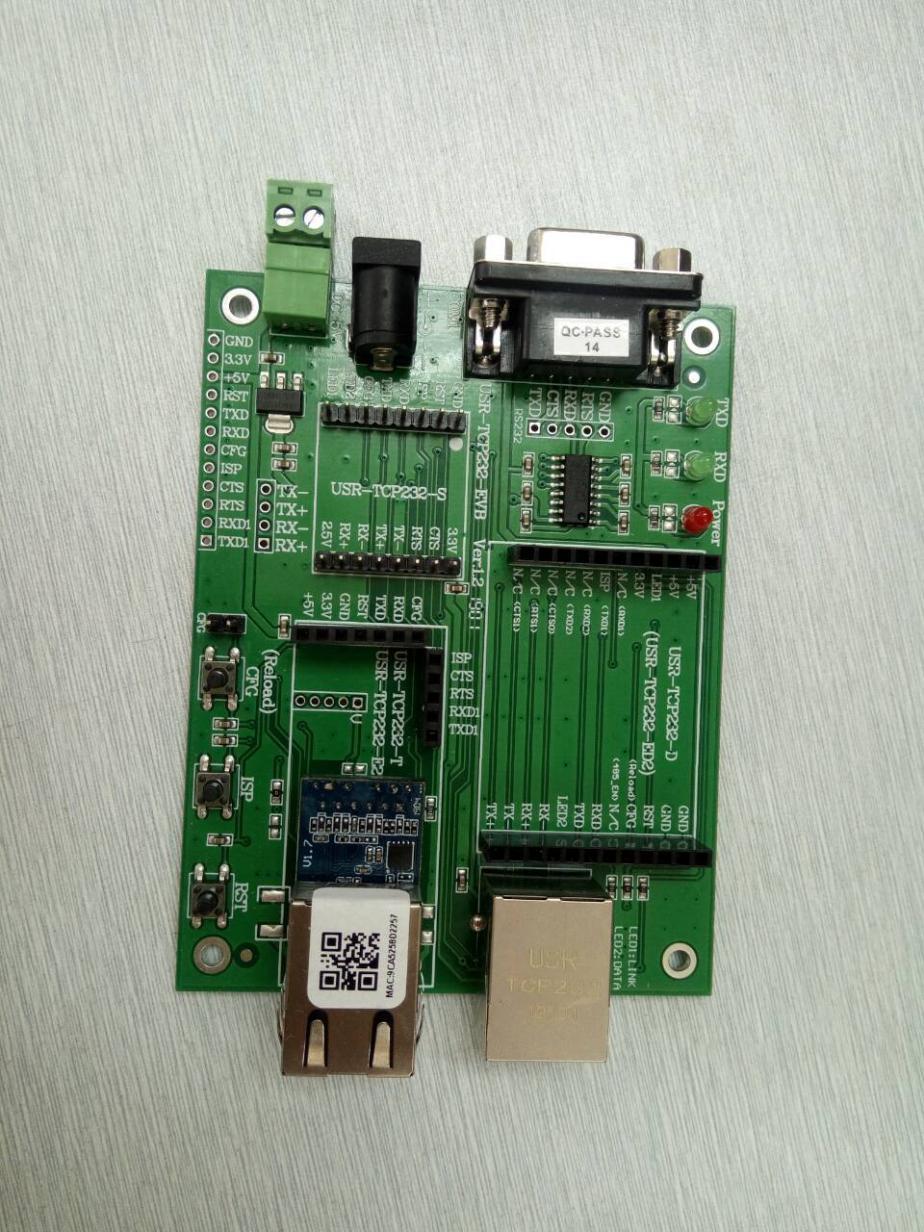 serial device server of USR-K7: 1 UART to Ethernet interface