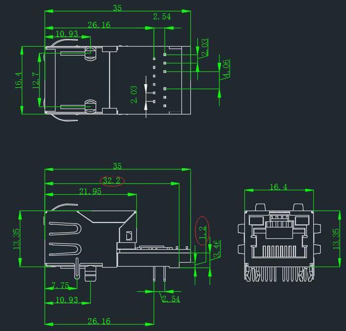 New version K7/K6 hardware design drawing: