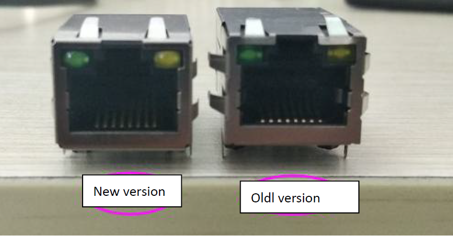 Front view: Difference between K7 K6 and USR-K3 K2 Version