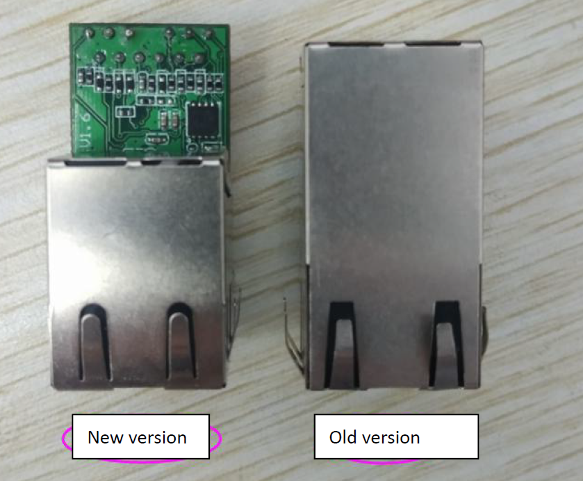 Top view: Difference between K7 K6 and USR-K3 K2 Version