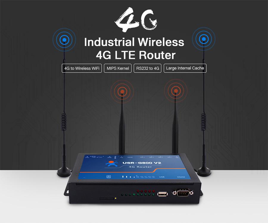 4G LTE Router USR-G800 V2