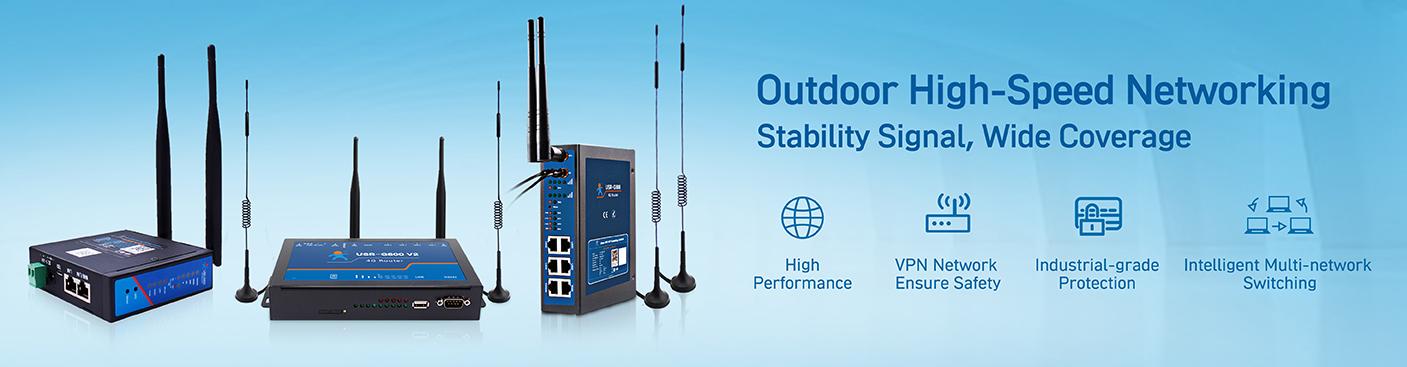 USRIOT's industrial cellular router