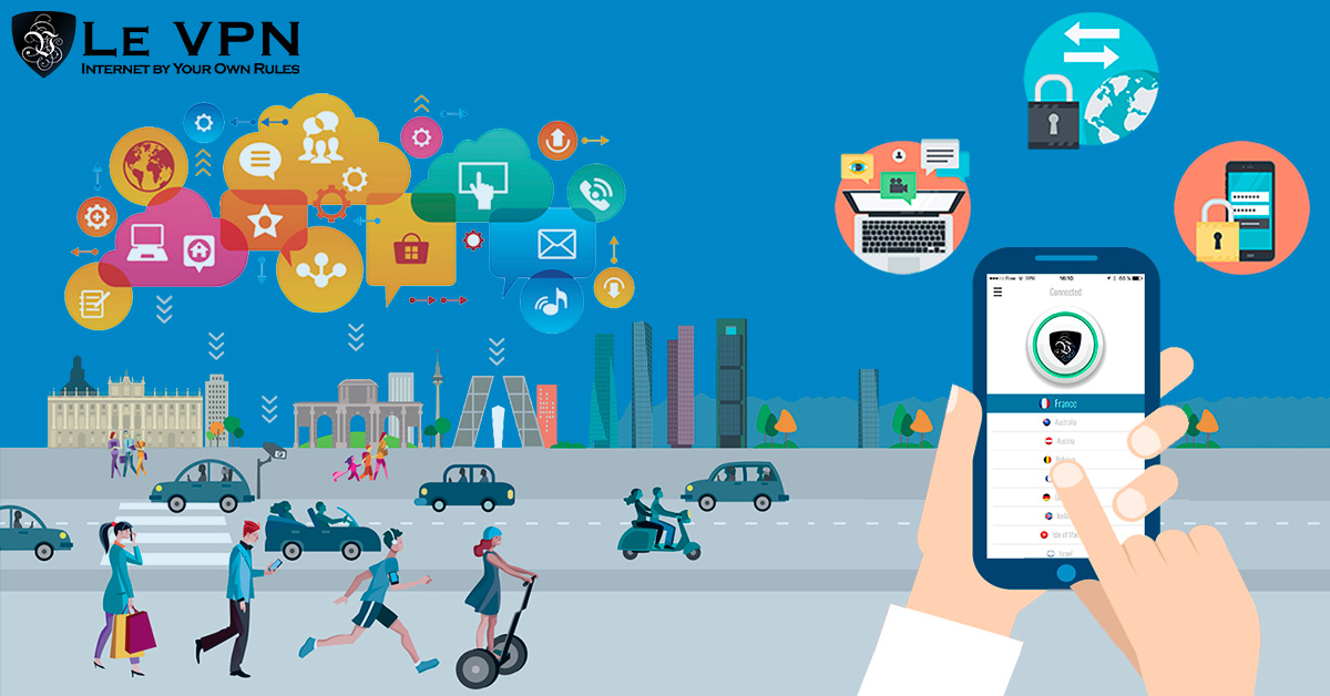 Why can VPN ensure the safety of IoT device?