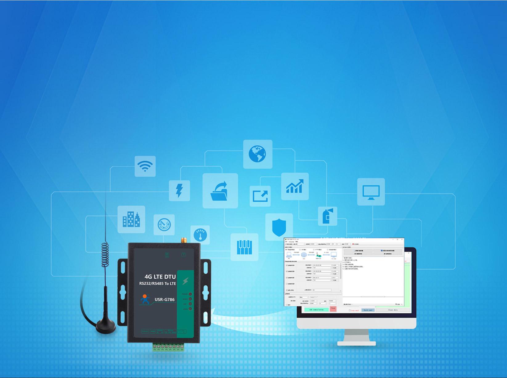 Cellular 4G LTE Modem USR-G786-E: Parameter Configuration
