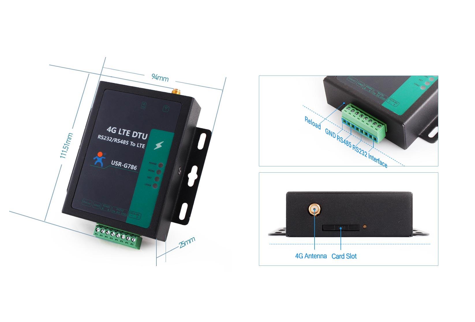 Cellular 4G LTE Modem USR-G786-E