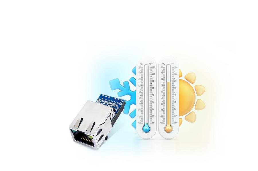 Industrial-grade Design for Ethernet module USR-K5