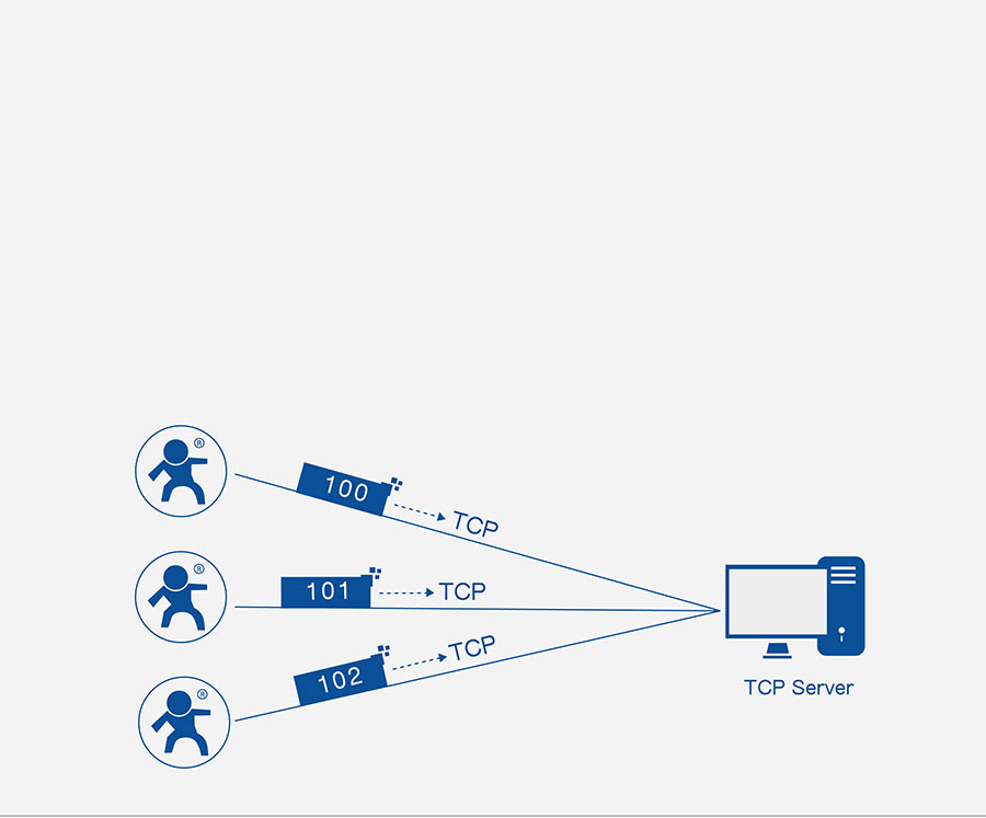 RS232 to Ethernet converters USR-TCP232-302: Identity packet function