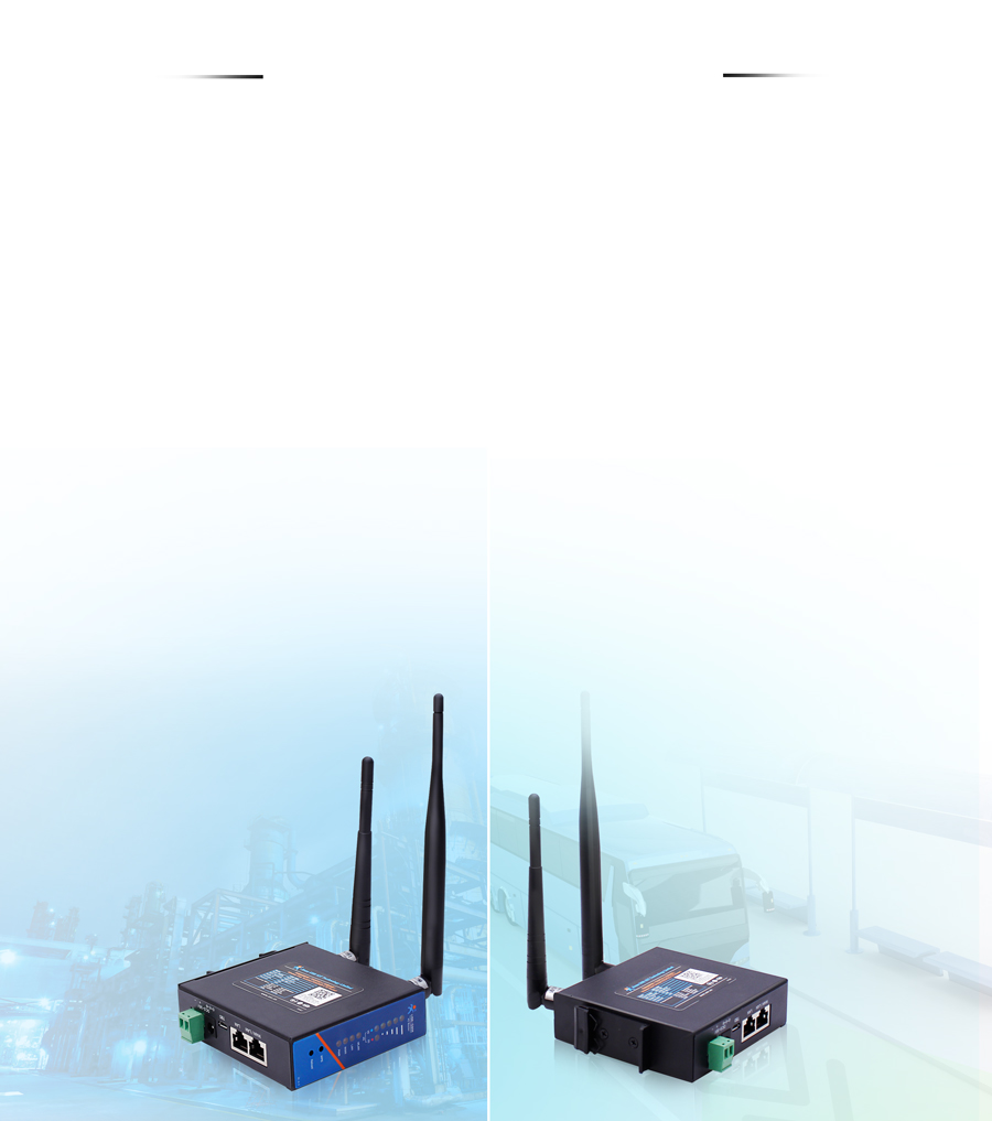 Option networking modes for industrial router USR-G806E/AU