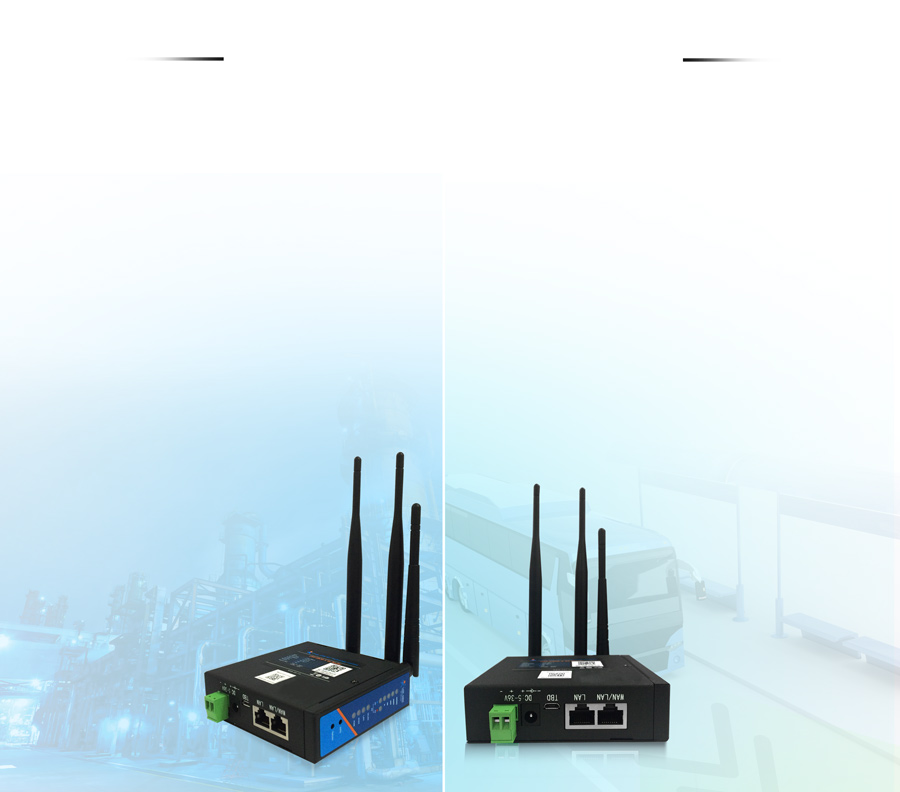 industrial LTE Routers - USR-G806-A: Option networking modes