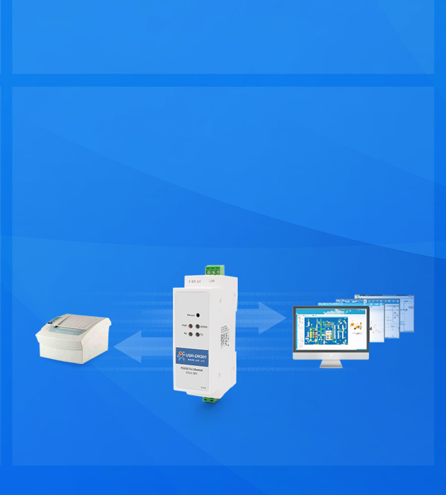 More functions of Din rail RS232 serial to Ethernet converter USR-DR301: Virtual serial software,Network Heartbeat Packet