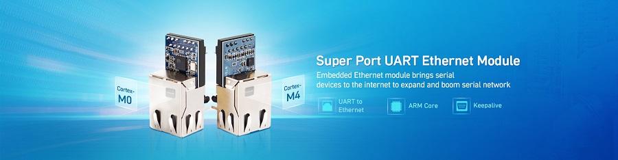 ethernet modules, embedded serial to ethernet USR-K5, USR-K6, USR-K7