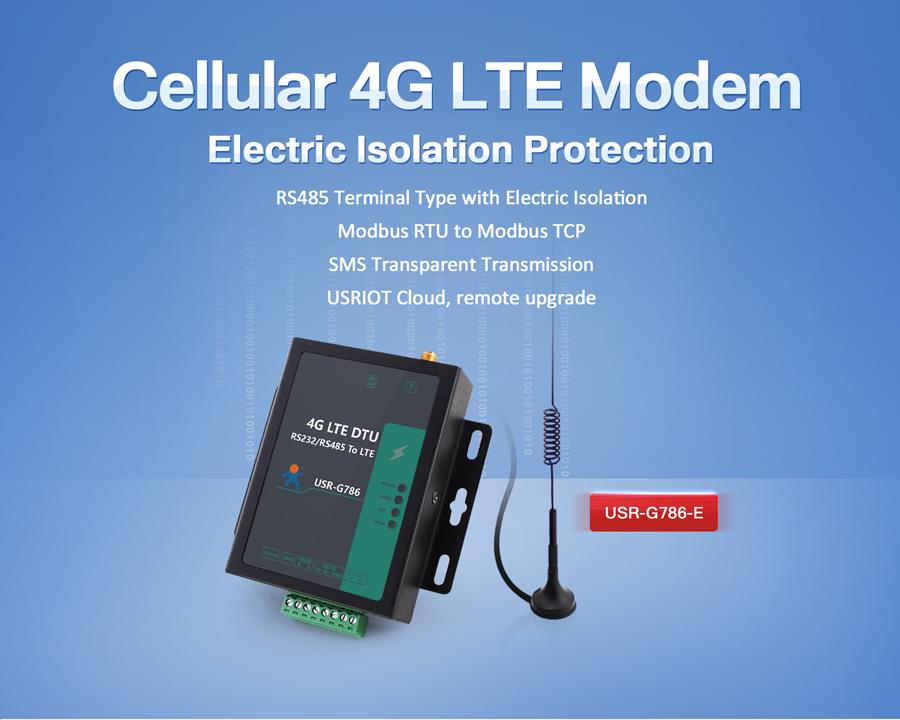 Cellular 4G LTE Modem