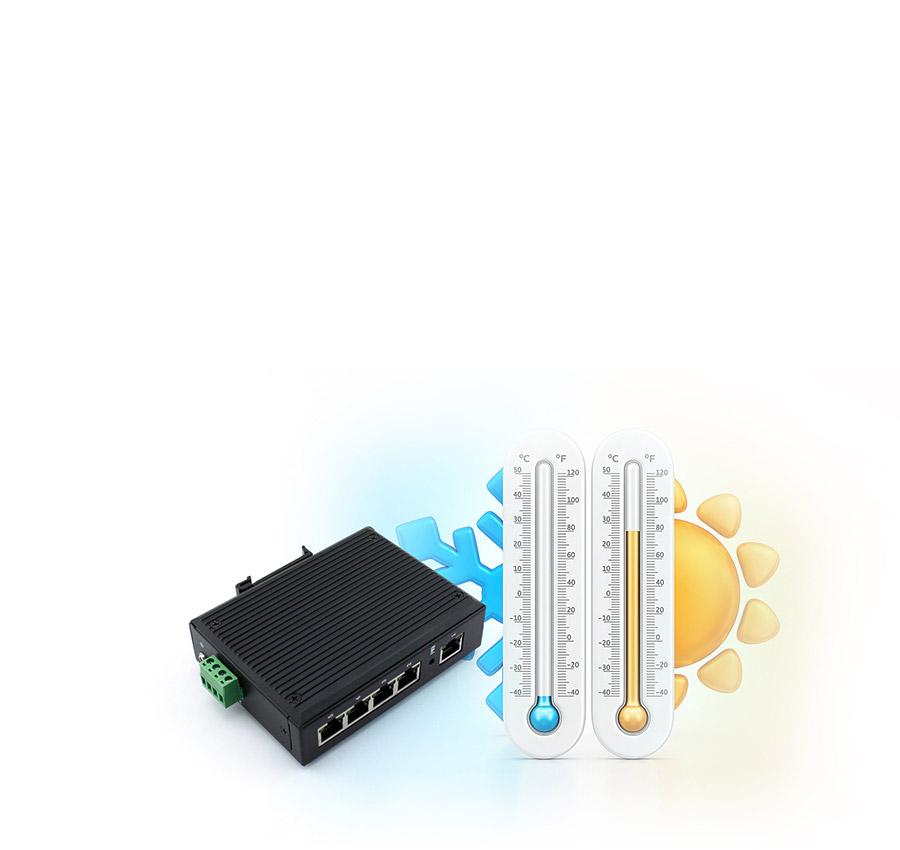 industrial design of ethernet switch USR-SDR050-L