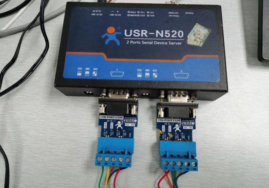 2 ports serial to Ethernet converter